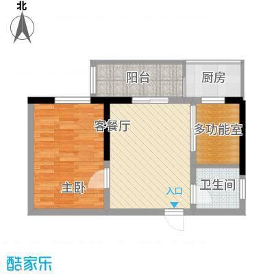 景荣花园62.00㎡景荣花园2室户型2室
