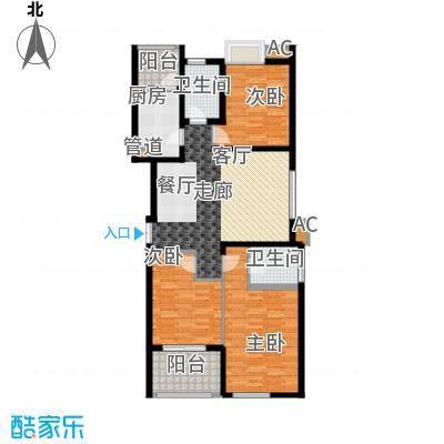 鼎新苑长3-2-1-1户型3室