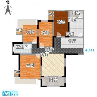 报业园报业园4户型10室