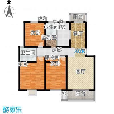 丰乐小区135.00㎡丰乐小区3室户型3室