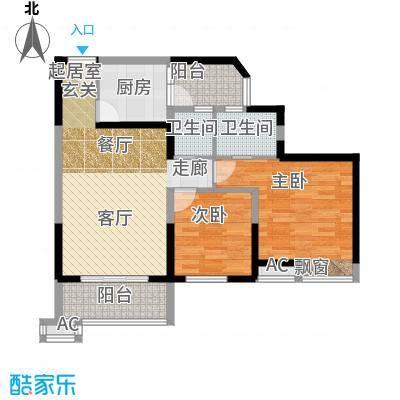 丰乐小区81.00㎡丰乐小区2室户型2室