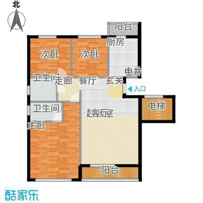 汪塘北村83.00㎡汪塘北村3室户型3室