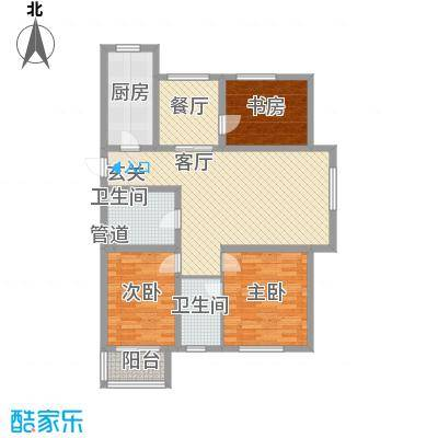 金兴苑86.00㎡金兴苑3室户型3室