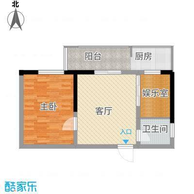 龙兴苑62.00㎡龙兴苑2室户型2室