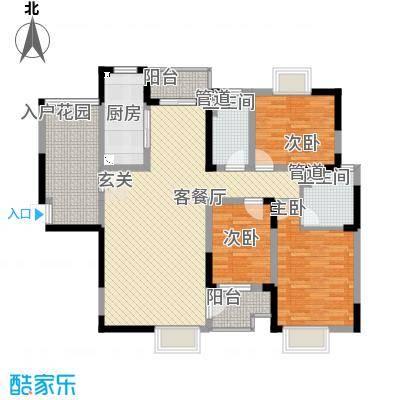 泊岸花园泊岸花园户型图2-13室2厅1卫1厨户型3室2厅1卫1厨