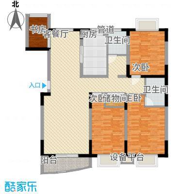 公园2046144.00㎡公园2046户型图户型h4室2厅2卫1厨户型4室2厅2卫1厨