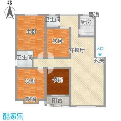 新安花苑户型图3室 户型图 3室2厅2卫1厨