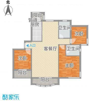 新梁溪人家别墅141.00㎡新梁溪人家别墅3室户型3室