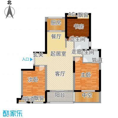 水畔兰庭142.00㎡水畔兰庭户型图F户型-142㎡2室2厅2卫1厨户型2室2厅2卫1厨