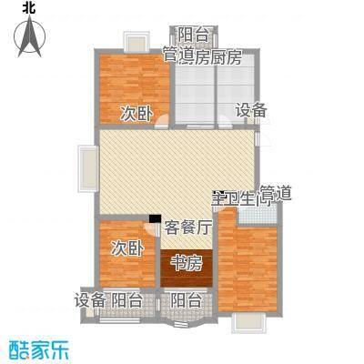 太湖花园三期152.62㎡太湖花园三期户型图B户型4室2厅2卫1厨户型4室2厅2卫1厨