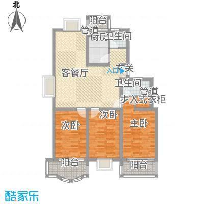 太湖花园三期133.34㎡太湖花园三期户型图E户型3室2厅2卫1厨户型3室2厅2卫1厨