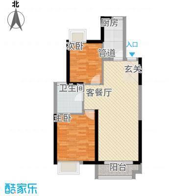 竹丝苑竹丝苑户型图8-22室2厅1卫1厨户型2室2厅1卫1厨