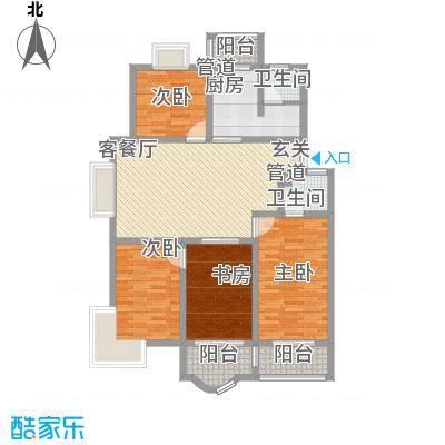 太湖花园三期139.68㎡太湖花园三期户型图C户型4室2厅2卫1厨户型4室2厅2卫1厨