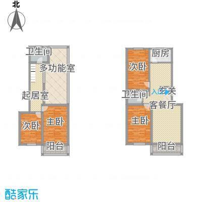 家和居105.00㎡家和居3室户型3室