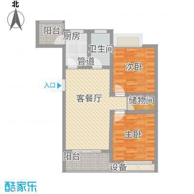 锡梅花园99.00㎡锡梅花园户型图2室户型图2室2厅1卫1厨户型2室2厅1卫1厨