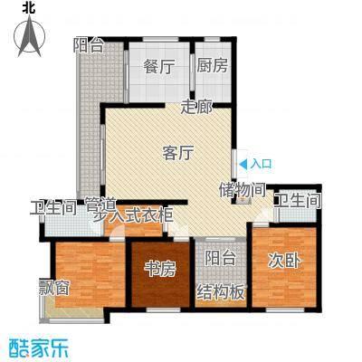 龙泽半岛逸湾149.70㎡4-11号楼B户型3室2厅2卫