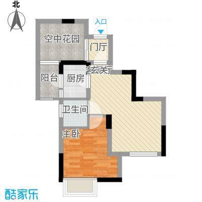 龙湾国际公寓53.14㎡龙湾国际公寓户型图A楼03户型1室2厅1卫1厨户型1室2厅1卫1厨