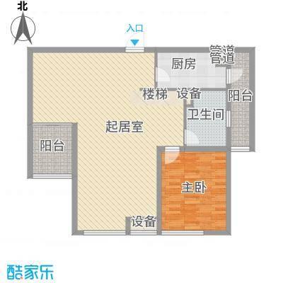 百大春城122.90㎡D6-1户型3室2厅2卫