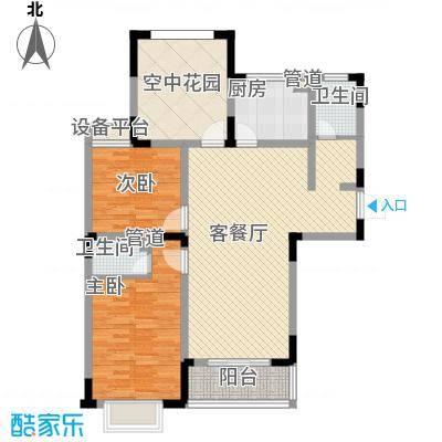 华夏世纪锦园户型图CA4户型 3室2厅2卫1厨