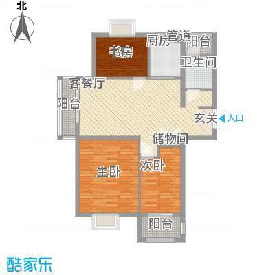 国城花园 3室 户型图