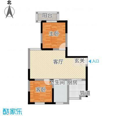 金色地带金色地带户型图2室2厅1卫1厨户型10室
