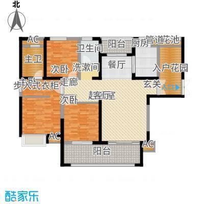 金科新大陆137.00㎡金科新大陆户型图G05户型3室2厅2卫户型3室2厅2卫