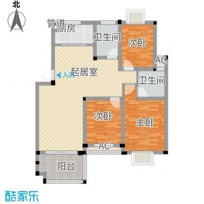 学墅丽邦119.99㎡学墅丽邦户型图多层A1户型3室2厅2卫户型3室2厅2卫