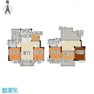 美满锦园170.00㎡美满锦园户型图Y1户型4室3厅2卫1厨户型4室3厅2卫1厨
