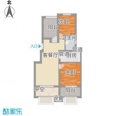 中南家园63.00㎡中南家园户型图1室户型图1室2厅1卫1厨户型1室2厅1卫1厨