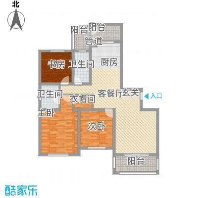 和睦家园143.00㎡和睦家园户型图E户型3室2厅2卫户型3室2厅2卫