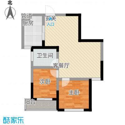 丽阳兰庭76.00㎡丽阳兰庭2室户型2室