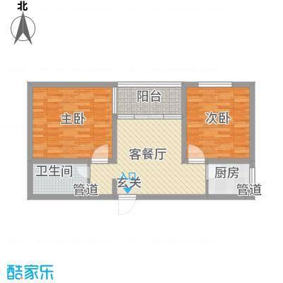 书香国际公寓82.39㎡书香国际公寓户型图A52室2厅1卫户型2室2厅1卫