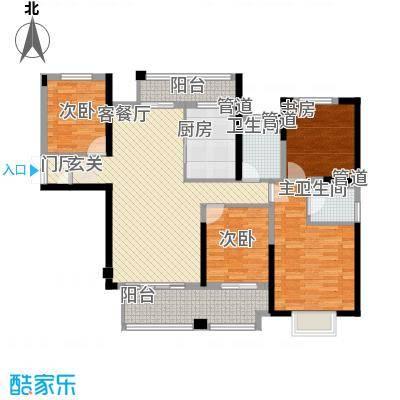 南门首府142.00㎡南门首府户型图户型图B4室2厅2卫1厨户型4室2厅2卫1厨