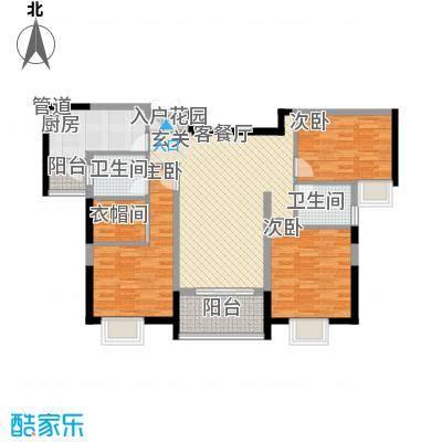南门首府126.00㎡南门首府户型图户型图D3室2厅2卫1厨户型3室2厅2卫1厨