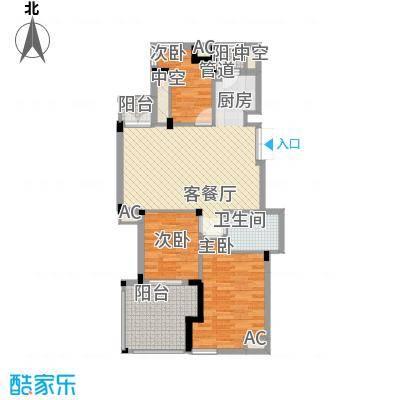 东鼎世纪107.00㎡东鼎世纪户型图户型奇数层D1a3室2厅1卫1厨户型3室2厅1卫1厨