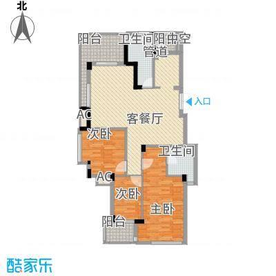 东鼎世纪128.20㎡东鼎世纪户型图户型奇数层E23室2厅2卫1厨户型3室2厅2卫1厨