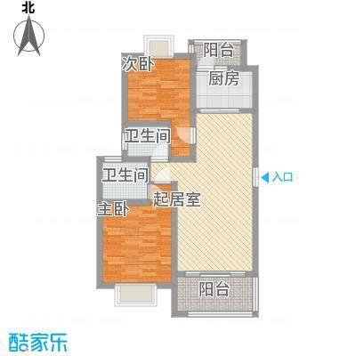 景泉花园96.00㎡景泉花园户型图2室户型图2室2厅1卫1厨户型2室2厅1卫1厨