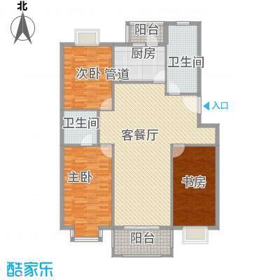 多友大厦158.00㎡多友大厦户型图3室户型图3室2厅2卫1厨户型3室2厅2卫1厨