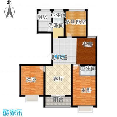 华夏太阳城二期130.00㎡华夏太阳城二期户型图E户型4室2厅2卫户型4室2厅2卫