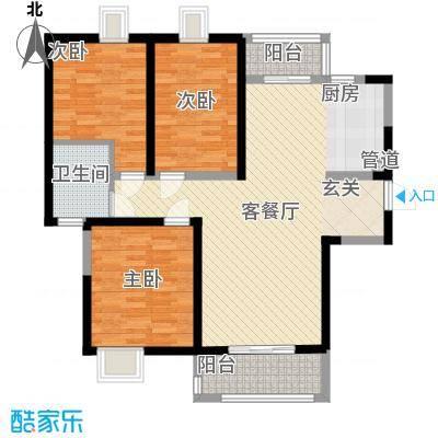 红旗花园120.00㎡红旗花园户型图3室户型图3室2厅2卫1厨户型3室2厅2卫1厨