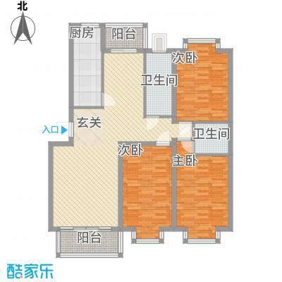 华厦清水湾138.00㎡D-138户型10室