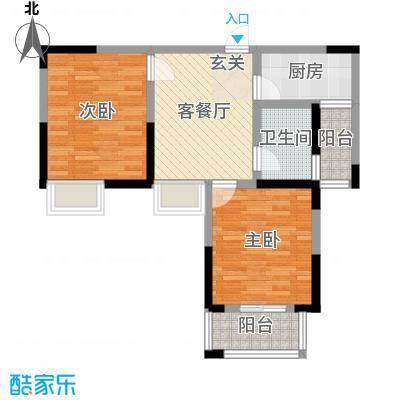 香槟花园78.00㎡香槟花园户型图户型A2室1厅1卫1厨户型2室1厅1卫1厨