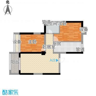瑞和山水居85.41㎡瑞和山水居户型图E户型2室2厅1卫1厨户型2室2厅1卫1厨