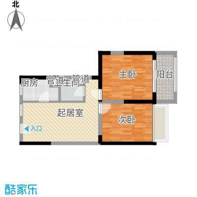 瑞和山水居76.00㎡瑞和山水居户型图H户型2室2厅1卫1厨户型2室2厅1卫1厨