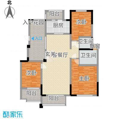 金域天下143.00㎡金域天下户型图A户型3室2厅2卫1厨户型3室2厅2卫1厨