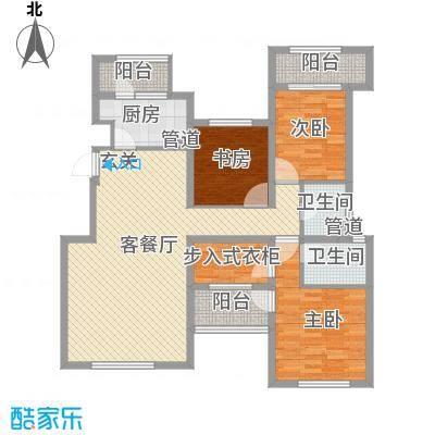 融科玖玖城139.40㎡融科玖玖城户型图4#、7#、8#楼D3户型3室2厅2卫户型3室2厅2卫