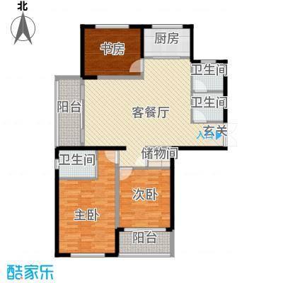新安苑 2室 户型图