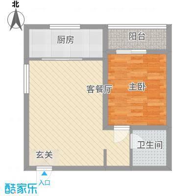 百合苑住宅楼 户型图