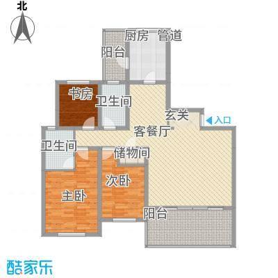 翡翠谷翡翠谷户型图hx13室2厅2卫1厨户型3室2厅2卫1厨