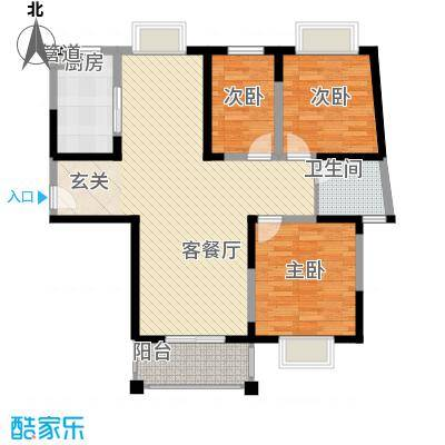 �泰华秀苑�泰华秀苑户型图10-13室2厅1卫1厨户型3室2厅1卫1厨